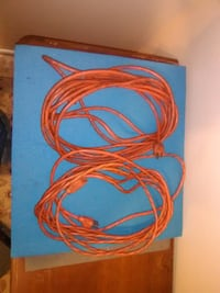 Two 25 foot extension cords.  Orlando