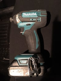 Makita Impact Driver. Used couple times. Asking $125 firm. Comes with 18v battery 1.5. Tool only no charger. OBO  Winnipeg, R2C 4V4