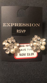 Expression from the Bay Cluster Earrings - Last Chance Mississauga, L4Z 1H7