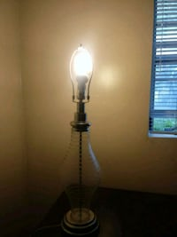Clear/white stripe lamp College Park, 20740