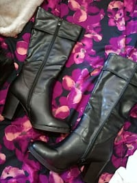 Black Fall boots Laval