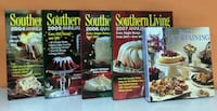 Southern living hard cover cook books collection Norfolk, 23518