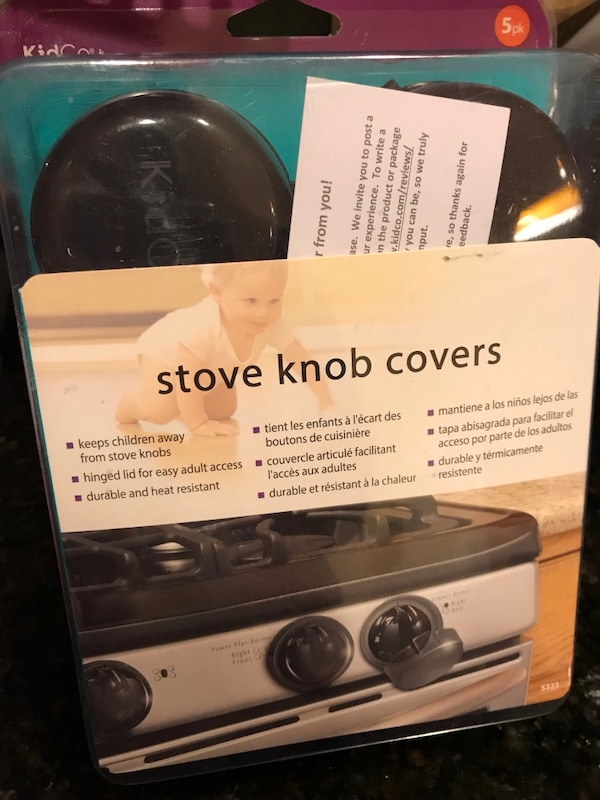 NEW Stove knob covers 5 pieces