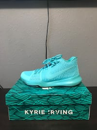 Kyrie 3 aqua  Houston, 77084