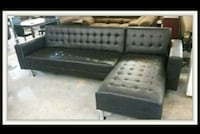 gray and white sectional couch Austin