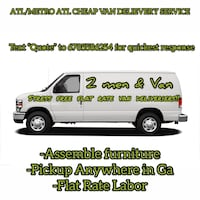 Flat Rate Van Delivery Service. Free Quotes