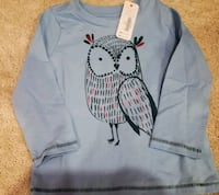 Gymboree long sleeve top with tags Milton, L0P 1J0