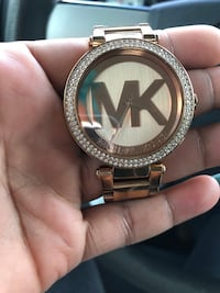 round silver Michael Kors analog watch with link bracelet Manassas, 20109