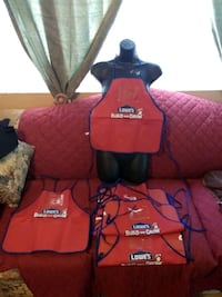 6 brand new child's aprons, $2 each firm Colton, 92324
