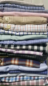 19 high-quality of dress shirts (Sizes M-XL)
