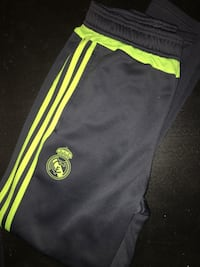 black and yellow Adidas track pants Laval, H7G 0B2