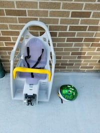 Toddler Bike carrier and helmet Lincoln, 68521