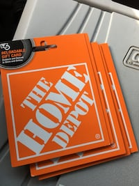 5x$1000 home depot vouchers for $800 each Chicago