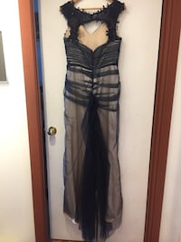black and gray sleeveless dress Surrey, V3V 4Y7