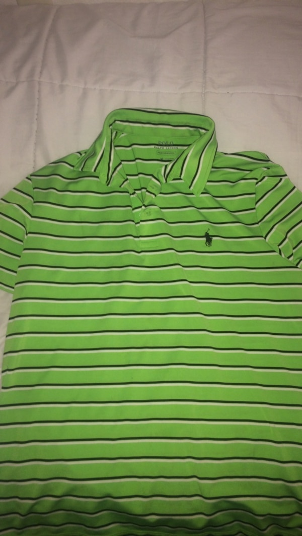 ef330987549 Used green and black Ralph Lauren polo shirt for sale in San Antonio - letgo