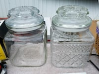 Short glass jars Saint Johns, 48879