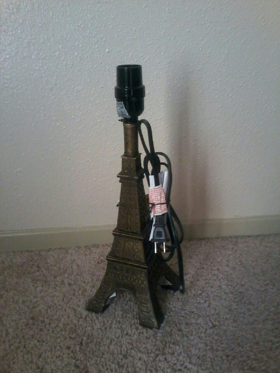 Used Eiffel Tower Table Lamp For Sale In Bryan   Letgo