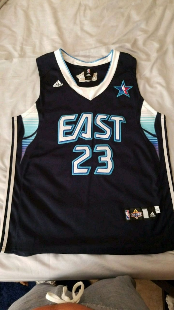 online retailer 6a83c a73ad Lebron James 09 All Star Jersey