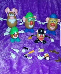 Mr .Potato head collection 48accessories 54 km