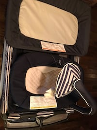 Chicco playpen set with changing station