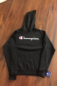 Brand new tags on champion fleece black hoodie men's size small Edmonton, T6L 6X6