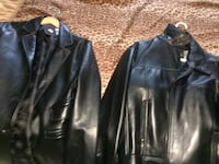 two black leather jackets San Diego, 92117
