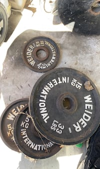 Weights for bench