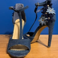 Denim High Heels Toronto, M3M 1A7