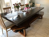 Hand Made Barn-wood Table. Vaughan, L4H 0X2