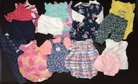 40 piece lot, 0-3 month baby girls clothes