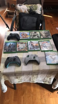 prices in description 4 controllers and 7 games