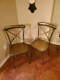 Vintage solid brass chair set Moore, 73160