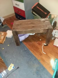 brown wooden table with chair Price, 84501