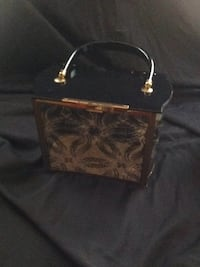 black and brown leather handbag Goffstown, 03045