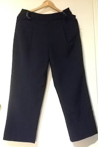 Zara navy blue crop pants Hamilton, L8B 0R5