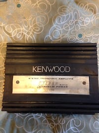 black Kenwood power amplifier Washington, 20019