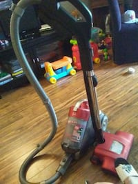 black and red canister vacuum cleaner Edmonton, T5J 4Y8