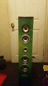 green and black tower speaker Downey, 90241