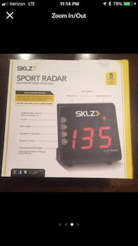 SKLZ SPORT RADAR multi-sport Speed Detection