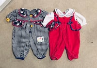 Pink Jumpsuit and Checked Jumpsuit size 6-9M Smyrna