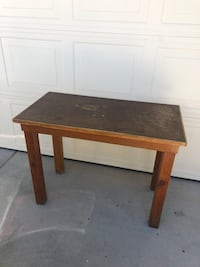 wooden table Palmdale, 93551