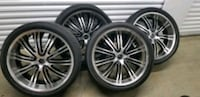 """24"""" Wheels and tires Maryland"""