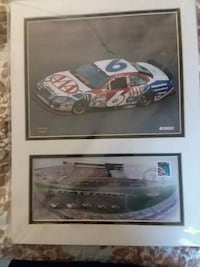 Mark martin matted photo daytona 2008 Harriman, 37748