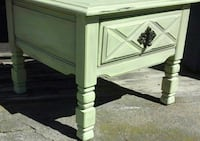 white wooden 2-drawer nightstand Montgomery Village, 20886
