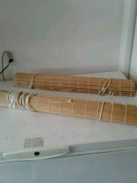 2 Ikea bamboo blinds 20.00 each Kitchener, N2K 4J7