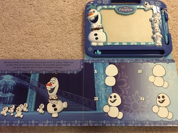 Frozen - Drawing and Writing Pad f73dc390-57c1-4919-ab14-acb37de850f8