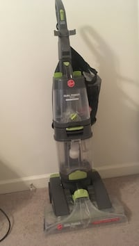 black and green Hoover upright vacuum cleaner Smyrna, 19977