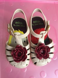 Mini Melissa Little prince girls shoes size 7