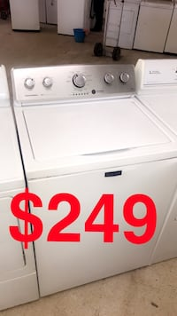 white top-load clothes washer Fayetteville, 28303