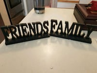Friends and family small signs.. Whitby, L1N 8X2